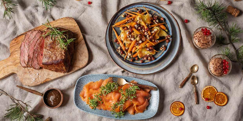 Enjoy the festive season's tastiest treats at the buffet