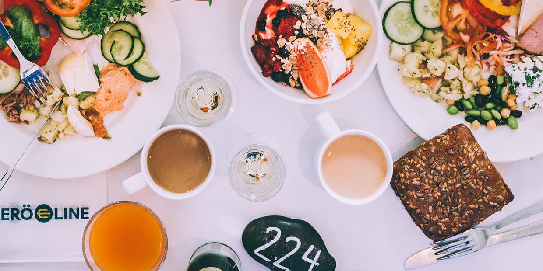 A bountiful Baltic breakfast buffet