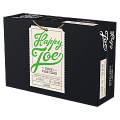 Happy Joe Crispy Pear Cider 24-pack