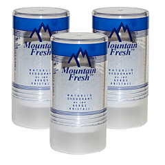 MOUNTAIN FRESH Deodorant, 3 x 90 g
