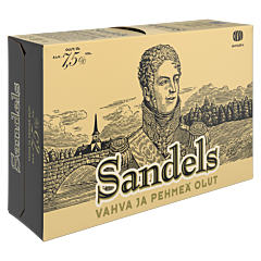 Sandels Extra Strong Beer 24-pack