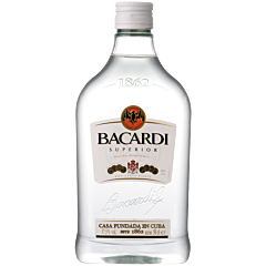 Bacardi Carta Blanca PET