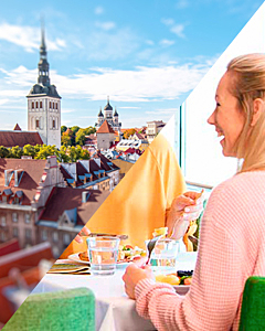 Day in Tallinn & Buffet Cruise