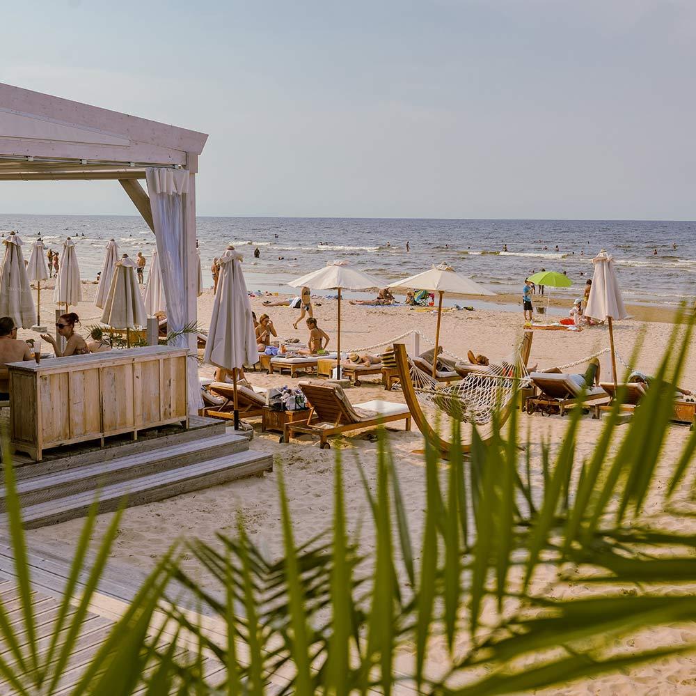 Beach of Jurmala, source: Latvia Travel