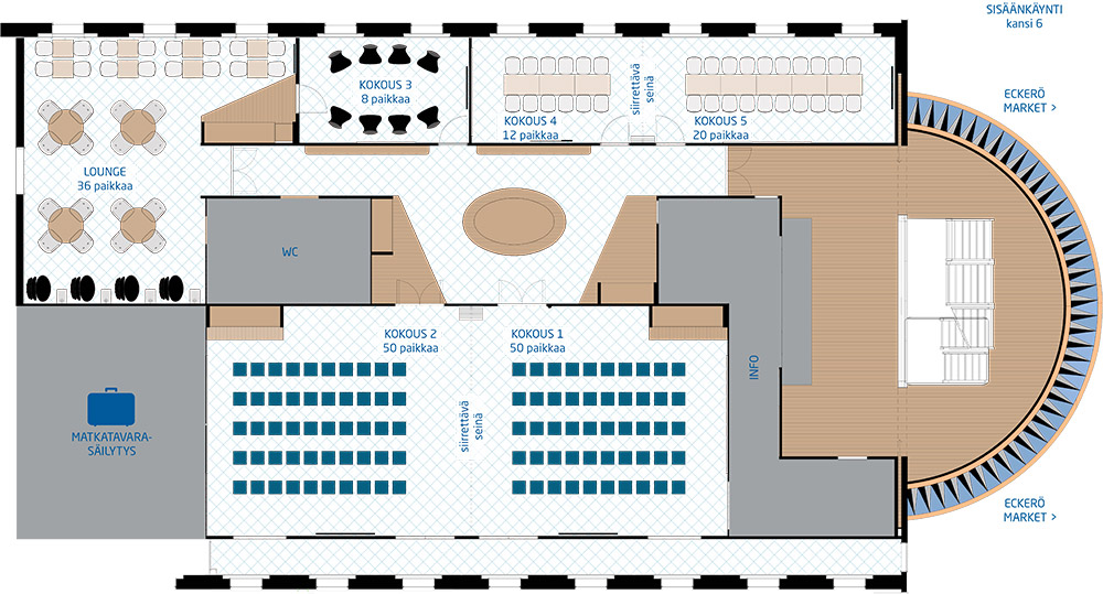 Conference Center Ground Plan