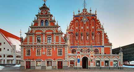 Riga, Latvia, The House of The Blackheads, Source:  latvia.travel, Investment and Development Agency of Latvia